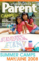 Camps issue of Athens Parent Magazine
