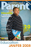 Education issue of Athens Parent Magazine