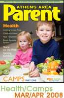 Health issue of Athens Parent Magazine